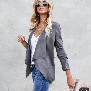 Silky soft Stunner! Faux Suede jacket